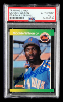 Mookie Wilson Signed 1989 Donruss #152 (PSA Encapsulated & JSA Hologram) at PristineAuction.com
