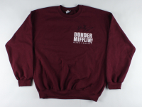 """Kate Flannery Signed """"The Office"""" Dunder Mifflin Sweatshirt Inscribed """"Meredith"""" (PSA Hologram) at PristineAuction.com"""