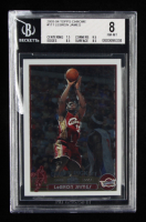 LeBron James 2003-04 Topps Chrome #111 RC (BCCG 8) at PristineAuction.com