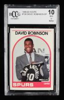 David Robinson 1989-90 Hoops #138 Short Print RC (BCCG 10) at PristineAuction.com