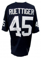 "Rudy Ruettiger Signed Jersey Inscribed ""11-8-75"" with Hand-Drawn Sack Play Diagram (JSA COA) at PristineAuction.com"