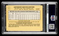 Tony Gwynn Signed 1985 Donruss #63 (PSA Encapsulated) at PristineAuction.com