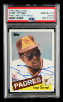 Tony Gwynn Signed 1985 Topps #660 (PSA Encapsulated) at PristineAuction.com