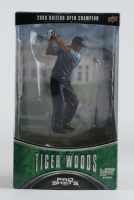Tiger Woods 2000 British Open Champion Upper Deck Figure with Trading Card (See Description) at PristineAuction.com