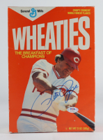 Pete Rose Signed Wheaties Cereal Box (PSA COA) (See Description) at PristineAuction.com