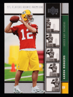 Aaron Rodgers 2005 Upper Deck Rookie Premiere Platinum #16 at PristineAuction.com