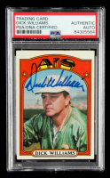 Dick Williams 1972 Topps #137 MG (PSA Encapsulated) at PristineAuction.com