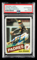 Goose Gossage Signed 1985 Topps #90 (PSA Encapsulated) at PristineAuction.com