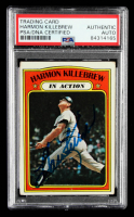 Harmon Killebrew Signed 1972 Topps #52 IA (PSA Encapsulated) at PristineAuction.com