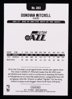 Donovan Mitchell 2017-18 Hoops #263 RC at PristineAuction.com