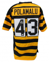 Troy Polamalu Signed Jersey (Beckett COA) at PristineAuction.com