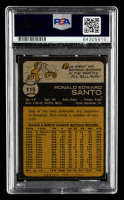 Ron Santo Signed 1973 Topps #115 (PSA Encapsulated) at PristineAuction.com