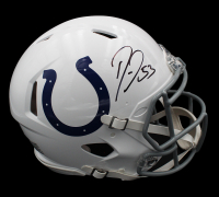 Darius Leonard Signed Colts Full-Size Authentic On-Field Speed Helmet (Radtke COA) at PristineAuction.com