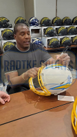 Antonio Gates Signed Chargers Full-Size Authentic On-Field Speed Helmet (Radtke COA) at PristineAuction.com