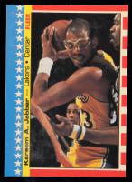 Kareem Abdul-Jabbar 1987-88 Fleer Stickers #8 at PristineAuction.com
