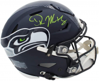 DK Metcalf Signed Seahawks Full-Size Authentic On-Field SpeedFlex Helmet (Beckett COA) at PristineAuction.com