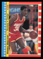 Hakeem Olajuwon 1987-88 Fleer Stickers #3 at PristineAuction.com
