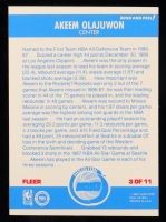 Hakeem Olajuwon 1987-88 Fleer Stickers #3 at PristineAuction.com