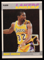 Magic Johnson 1987-88 Fleer #56 at PristineAuction.com