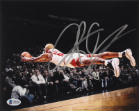 Dennis Rodman Signed Bulls 8x10 Photo (Beckett COA) at PristineAuction.com