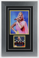 "Katy Perry Signed 15x23 Custom Framed ""Smile"" Album Photo Display (JSA COA) at PristineAuction.com"