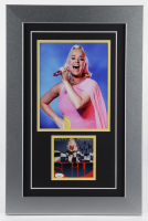 "Katy Perry Signed 15x23 Custom Framed ""Smile"" Album Photo Display (JSA COA) (See Description) at PristineAuction.com"