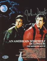 "John Landis Signed ""An American Werewolf in London"" 8x10 (Beckett COA) at PristineAuction.com"