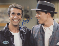 """Henry Wrinkler Signed """"Happy Days"""" 8x10 Photo (Beckett COA) (See Description) at PristineAuction.com"""