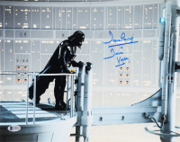 "David Prowse Signed ""Star Wars"" 11x14 Photo Inscribed ""Darth Vader"" (Beckett COA) at PristineAuction.com"