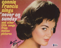 Connie Francis Signed 8x10 Photo (Beckett COA) at PristineAuction.com