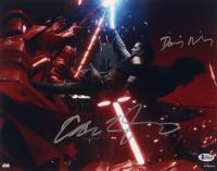 "Adam Driver & Daisy Ridley Signed ""Star Wars: The Last Jedi"" 11x14 Photo (Beckett COA) at PristineAuction.com"
