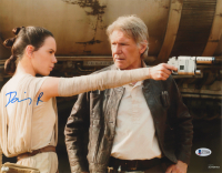 """Daisy Ridley Signed """"Star Wars: The Force Awakens"""" 11x14 Photo (Beckett COA) at PristineAuction.com"""
