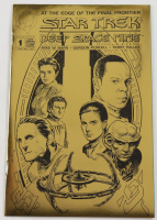 "1993 ""Star Trek: Deep Space Nine"" Issue #1 Gold Edition Malibu Comic Book at PristineAuction.com"