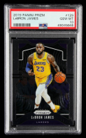 LeBron James 2019-20 Panini Prizm #129 (PSA 10) at PristineAuction.com