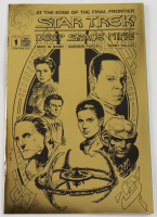 "1993 ""Star Trek: Deep Space Nine"" Issue #1 Gold Edition Malibu Comic Book at PristineAuction.com"