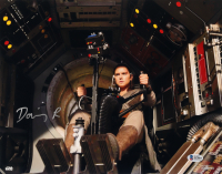"""Daisy Ridley Signed """"Star Wars: The Force Awakens"""" 11x14 Photo (Beckett Hologram) at PristineAuction.com"""