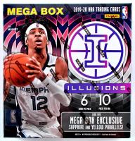 2019-20 Panini Illusions Basketball Mega Box with (10) Packs at PristineAuction.com
