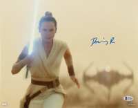 "Daisy Ridley Signed ""Star Wars: The Rise of Skywalker"" 11x14 Photo (Beckett COA) at PristineAuction.com"