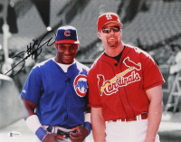 Sammy Sosa Signed Cubs 11x14 Photo (Beckett COA) at PristineAuction.com