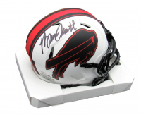 Bruce Smith Signed Bills Lunar Eclipse Alternate Speed Mini Helmet (JSA COA) at PristineAuction.com