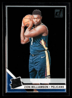 Zion Williamson 2019-20 Clearly Donruss #V51 RR RC at PristineAuction.com