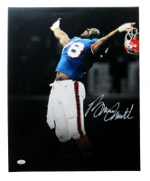 Bruce Smith Signed Bills 16x20 Photo (JSA COA) at PristineAuction.com