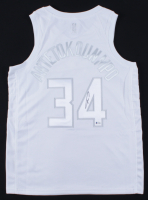 Giannis Antetokounmpo Signed Bucks Jersey (Beckett COA) at PristineAuction.com