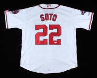 Juan Soto Signed Nationals Jersey (JSA COA) (See Description) at PristineAuction.com