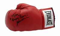 "Tom ""Boom Boom"" Johnson Signed Boxing Glove (JSA COA) at PristineAuction.com"