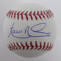 Aaron Nola Signed OML Baseball (JSA COA) at PristineAuction.com