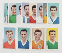 "1961 Kellogg's ""Soccer Stars"" Complete Set of (12) Cards with Bobby Charlton #3, Jimmy Greaves #6 at PristineAuction.com"