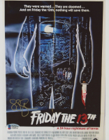 """Sean S. Cunningham Signed """"Friday the 13th"""" 8x10 Photo (Beckett COA) at PristineAuction.com"""