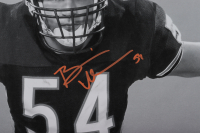 Brian Urlacher Signed Bears 16x40 Poster (Beckett COA) at PristineAuction.com