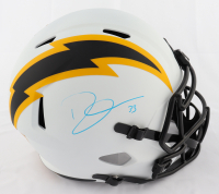 Derwin James Signed Chargers Lunar Eclipse Alternate Full-Size Speed Helmet (Beckett Hologram) at PristineAuction.com